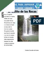 Ficha de El Gallito de Las Rocas Para Primaria