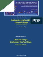 Recorrido Visual Línea del Tiempo CEAAL EFPyAI 16nov2018