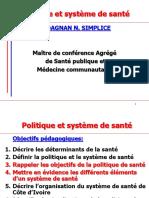 Introduction Politique de sant+® GPE