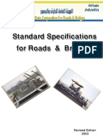 General Specifications for Roads & Bridges NEW EDITION