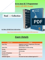 Verified 1Z0-805 Exam Questions - Oracle 1Z0-805 Exam Dumps RealExamCollection