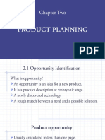 Chapter Two (Product Planning)