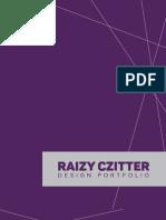 Raizy Czitter graphic design portfolio