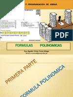 Formula Polinomica y Calculo de Reajustes