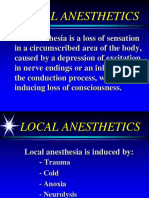 Local Anesthetics 2005