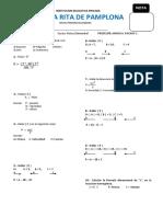 Examen 2do Secundaria