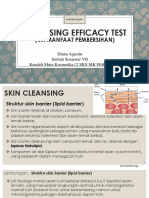 Pert 6. Cont- Cleansing Efficacy Test