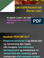 Hukum Keperawatan-Nurse Law (PSIK B-UB, 2010-2011)