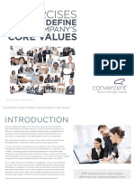 Convercent eBook 5 Exercises to Help Define Your Companys Core Values