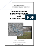 Guidelines for Drainage Studies