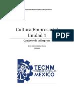 Cultura Empresarial Unidad 1