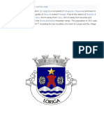History of Loriga Wikipedia by the historian António Conde