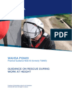Pgn03 Guidance on Rescue During Work at Height