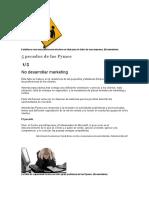5 errores de las PYMES
