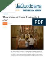 Messa in Latino