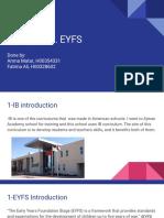 presentation assesment 2 theories ib eyfs
