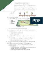 Examen Fisica II - Telesecundaria