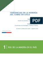 Cochilco - Tendencias en La Minería Del Cobre en Chile