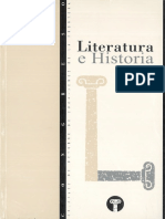Actas Del Congreso Literatura e Historia