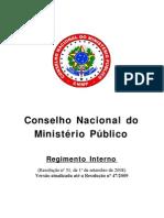 Regimento Interno -Atualizada2010 CNMP