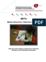 MODELO EDUCATIVO TEMATICA