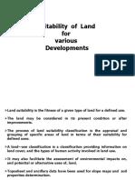 M.arc Class v Land Suitability Classification