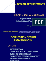 Connection Design Requirement