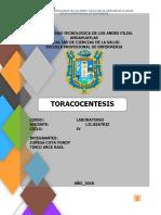 TORACENTESIS