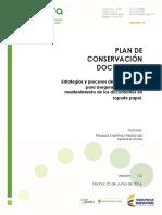 Plan de conservación documental