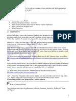 PARfessionals' Manuscript Reference Guide