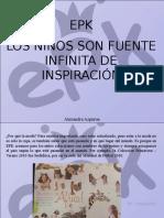 Alexandra Azpurúa - EPK, Los Niños Son Fuente Infinita de Inspiración