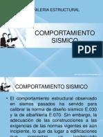 COMPORTAMIENTO SISMICO