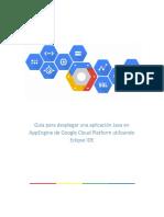 Guía Para Desplegar Una Aplicación Java en AppEngine de Google Cloud Platform Utilizando Eclipse IDE