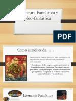 Literatura Fantástica y Neofantástica