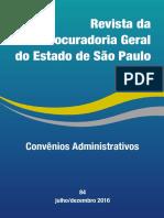 Revista PGE n. 84 - Convênios Administrativos