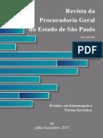 Revista PGE n. 86 - Estudos Em Homenagem a Norma Kyriakos