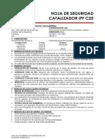 Msds Catalizador Ipf c20