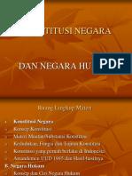 Konstitusi Negara Dan Negara Hukum1