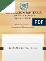 Diseño de Planes y Programas en ES