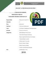 Las Corrientes Pedagogicas Comtenporaneas