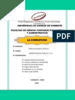 La Corrupcion- Grupo de Mayrapp