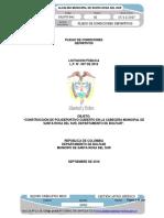 Licitación Pública N° 002 de 2018 - Estudios previos