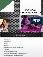 Neha Dentinal Hypersensitivity Final