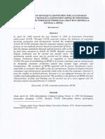 Penyelesaian Sengketa Perlindungan Konsumen Melalui BPSK