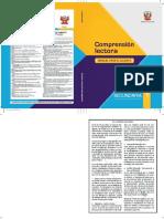 Comprensión lectora 1 manual para el docente de primer grado de Secundaria.pdf