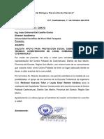 Carta de Proyección Social 2