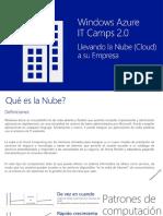 IT Camps - Windows Azure ESPAÑOL