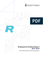 Rotman Employment and Salary Report 2018