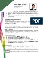 Cv Cronologico - Diego Jara