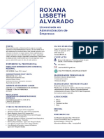 Cv - Roxana Alvarado